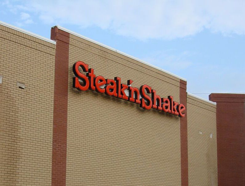 Steak 'n Shake restaurant new construction