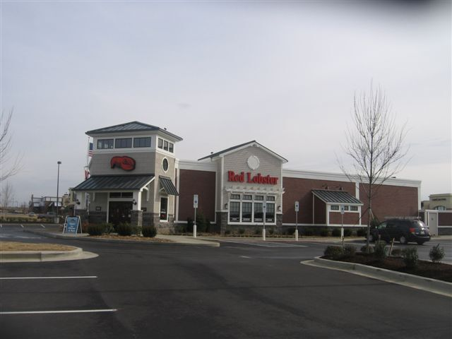 Red Lobster restaurant new construction