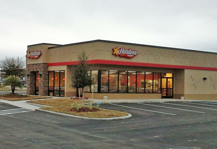 hardees front